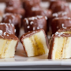 Chocolate Coconut Butter Banana Bites