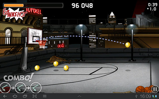 tip-off-basketball for android screenshot