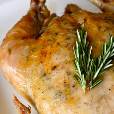 Garlic Rosemary Roast Chicken