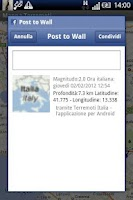 Screenshot of Terremoti Italia No Banner