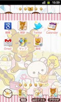 Screenshot of Rilakkuma Theme 21