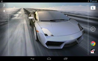 Screenshot of 3D Car Live Wallpaper