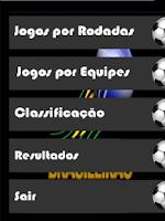 Screenshot of Futebol Brasil 2014