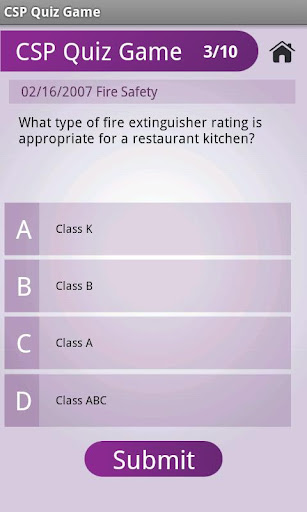CSP Quiz Game