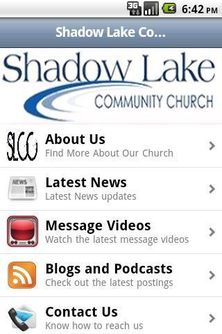 Shadow Lake Church