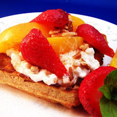 Peachy Breakfast Shortcake