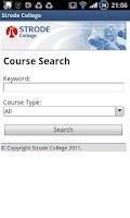 Screenshot of Strode College