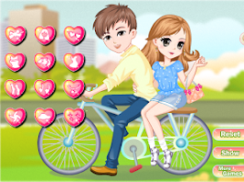 Screenshot of Bicycle trip with love