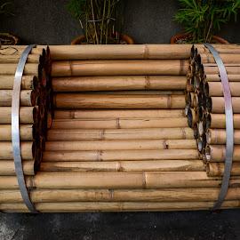 BAMBOO BENCH by Eduardo Seastres - Artistic Objects Furniture ( #artisticfurniture, #bench, #artistic bench, #bamboo, #artistic )