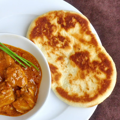Easy Homemade Naan