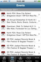 Screenshot of PDX Pipeline: Portland Events