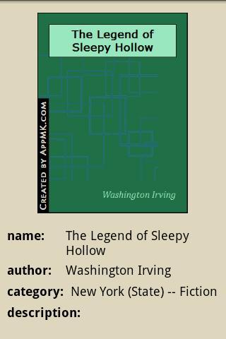 玩免費書籍APP|下載The Legend of Sleepy Hollow app不用錢|硬是要APP