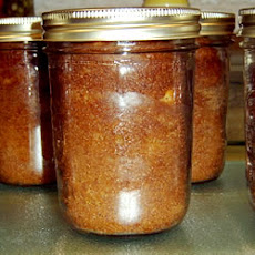 Banana Nut Bread Baked in a Jar