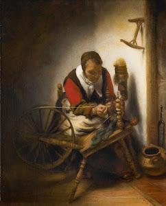 RIJKS: Nicolaes Maes: painting 1662