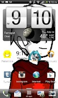 Screenshot of Dave Strider Live Wallpaper