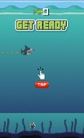 Screenshot of Flappy Hungry Shark
