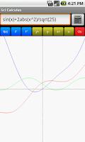 Screenshot of Sci Calculus