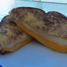 Parmesan-Crusted Grilled Cheese Sandwich