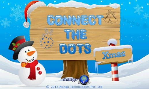 Connect The Dots Xmas - screenshot
