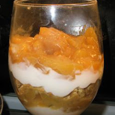 Brunch Peach Parfait