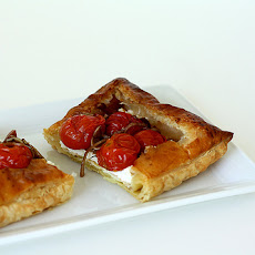 Roasted Tomato and Goat Cheese Tarts