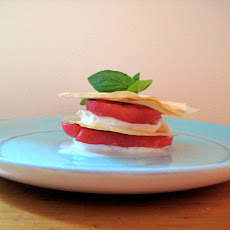 Fresh Mozzarella and Tomato Napoleon