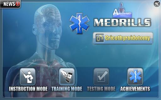 Medrills: Cricothyroidotomy
