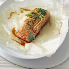 Ginger & Chilli Salmon In A Parcel
