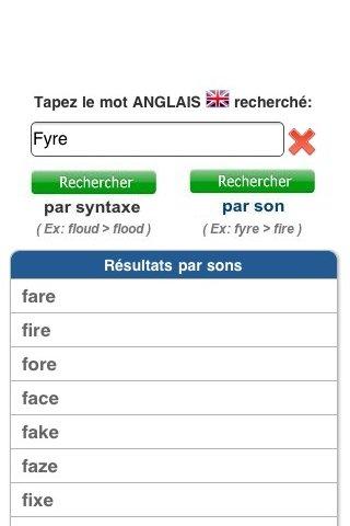 Orthographe Anglais