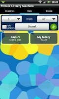 Screenshot of Private Lottery Machine