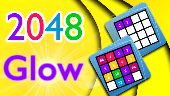 2048 Glow - screenshot