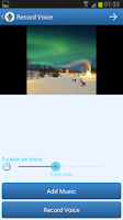 Screenshot of PhotoVoice - Voice on Pictures