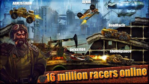 RoWarrior: Best Racing Game - screenshot