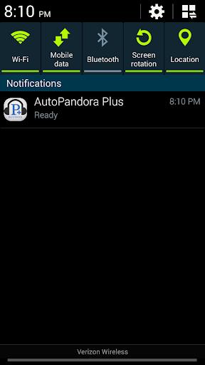 Auto Launch Pandora Plus - screenshot