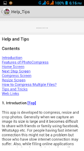 Photo Compress 2.0 - Ad Free Screenshot