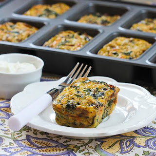 Swiss Chard and Mushroom Squares (Updated Version)