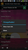Screenshot of Hawaiian Music Radio Stations