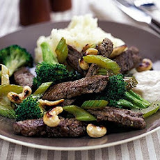 Quick Beef & Broccoli One-pot