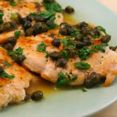 Chicken Piccata with Fried Capers