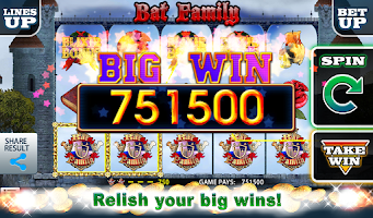 Screenshot of Bat Family Slot