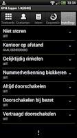Screenshot of KPN Zapper