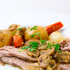 Mushroom and Onion Pot Roast