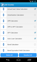 Screenshot of Premium Financial Calculators