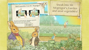 Screenshot of Peter Rabbit's Garden