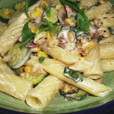 Bacon and Sweet Corn Pasta