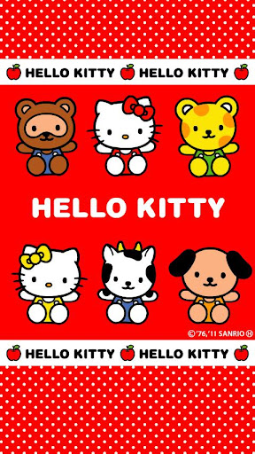 HELLO KITTY LiveWallpaper 1