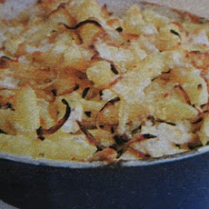 Macaroni and Cheese with Roast Chicken