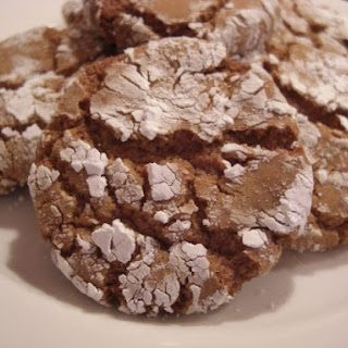 Spiced Crackle Cookies With Crystallized Ginger