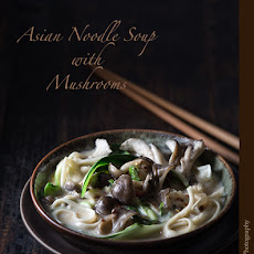 Asian Noodle Soup with Mushrooms