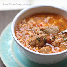 Pork & Tomato Soup – Low Carb and Gluten Free